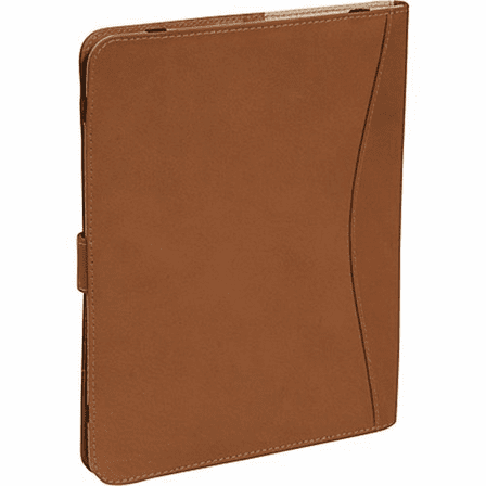 Leather iPad Case with Tab Closure by Piel