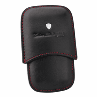 Leather Lighter & Cigar Cutter Pouch by Lamborghini