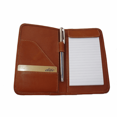 Leather Mini Notepad Holder