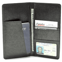 Leather Passport & Airline Ticket Holder