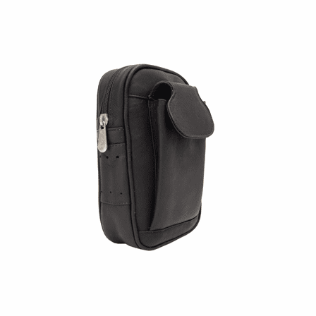 Leather Utility Golf Carry-All with Phone Case
