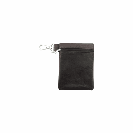 Leather Valuables Pouch