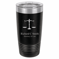 Legal Scales 20 Ounce Black Polar Camel Travel Mug