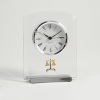 Legal Theme Desk Clock