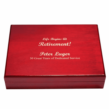 Life Begins At Retirement Humidor