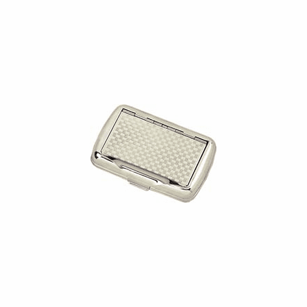 Loose Tobacco Holder with Checker Pattern