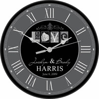 Love Personalized Wall Clock
