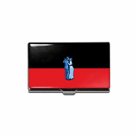 """""""Lovers"""" Business Card Case"""