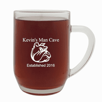 Man Cave   20 Ounce Barrel Mug with Handle