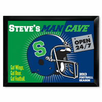 Man Cave 24/7 Pub Sign - Free Personalization