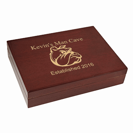 Man Cave  Piano Finish 30 Cigar  Humidor