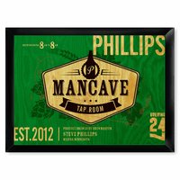 Man Cave Tap Room Pub Sign - Free Personalization