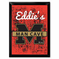 Man Cave University Pub Sign - Free Personalization