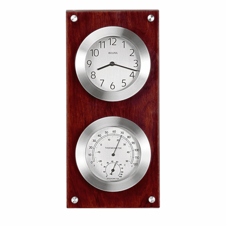Mariner Weather Station Wall Clock By Bulova