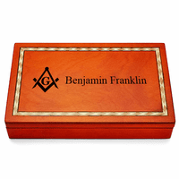 Masonic Personalized Dominoes Set - Discontinued