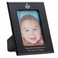 Masonic Personalized Marble Photo Frame