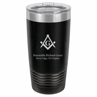 Masonic Personalized Travel Coffee Mug