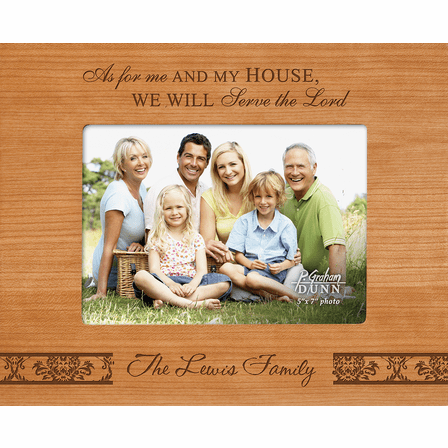"Me & My House Personalized 5"" x 7"" Picture Frame"