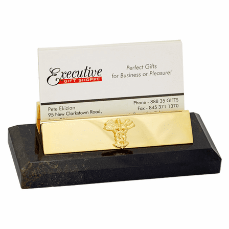 Medical Theme Desktop Business Card Holder