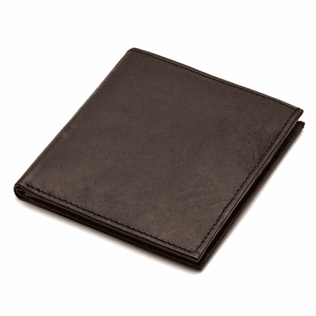 Men's Bifold Credit Card Wallet with ID Window