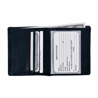 Men's Genuine Leather Bi-Fold Wallet - Discontinued