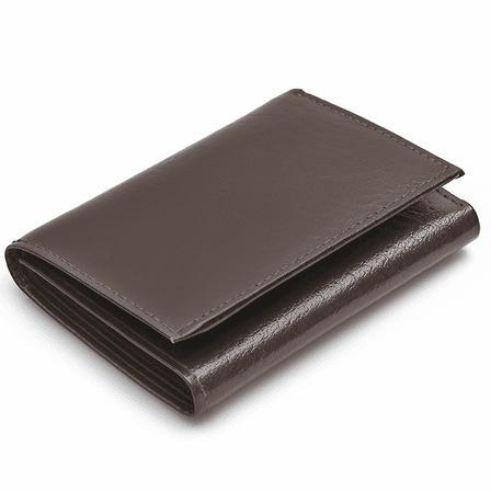 men s trifold wallet with single id window executive gift shoppe