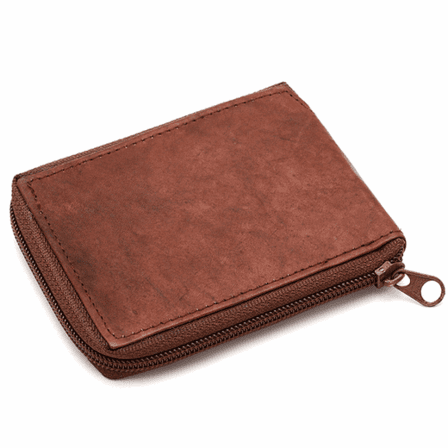Men's Zipper Wallet with Outside Removable ID Holder - Discontinued