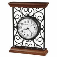 Mildred Metal Wire Carriage Clock by Howard Miller