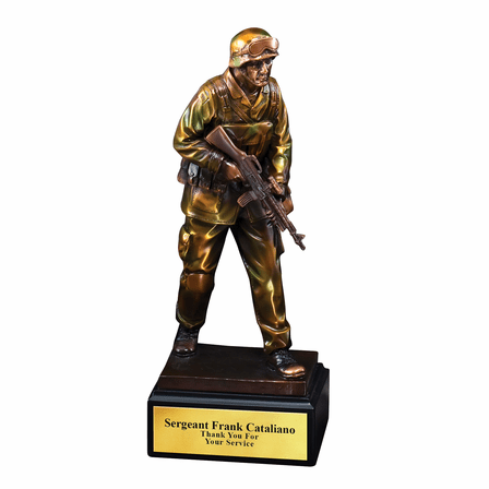 Military Man Personalized  Award