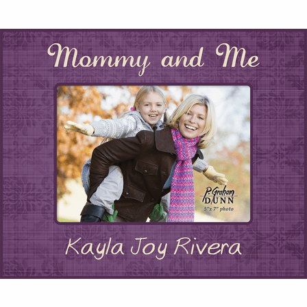 "Mommy And Me Personalized 5"" x 7"" Picture Frame"