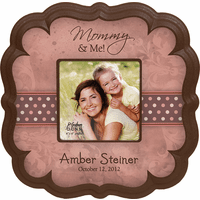 "Mommy & Me Personalized  4"" x 6"" Picture Frame - Discontinued"