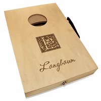 Monogram  Mini Cornhole Game