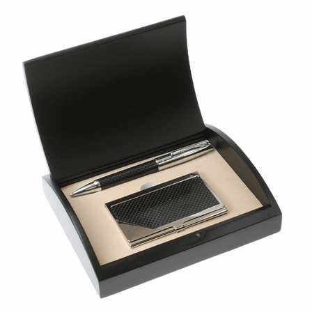 Monogram  Pen and Card Case Gift Set - Free Personalization