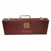 Monogram  Rosewood Barbecue Set