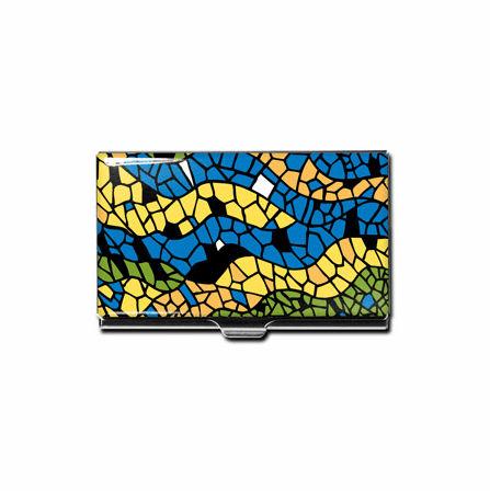 Mosaic Design Business Card Case