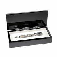 Mother-Of-Pearl & Abalone Ball Point Pen