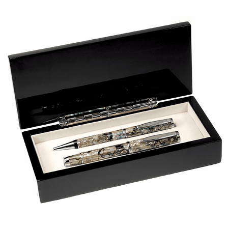 Mother of Pearl & Abalone Dual Pen Set
