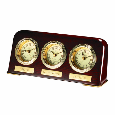 Multi Time Zone Desk Clock