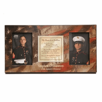 My Hero Is A Soldier Photo Frame