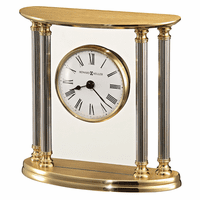 New Orleans Solid Brass Table Clock by Howard Miller
