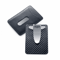 Nocturna Card Holder & Money Clip by Dalvey