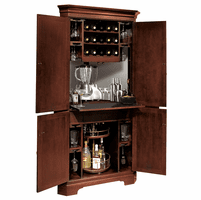 Norcross Wine & Bar Cabinet by Howard Miller  - Discontinued