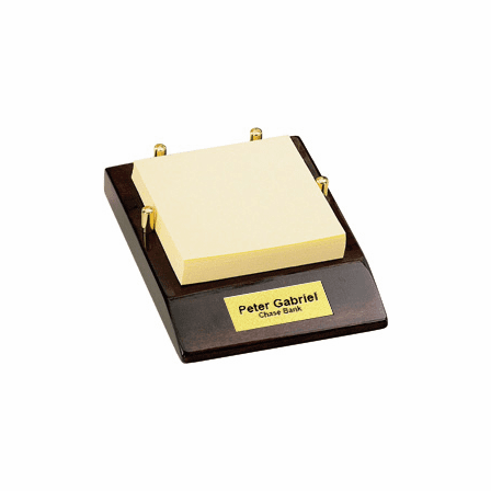 Note Pad Caddy II Post It Holder by Howard Miller
