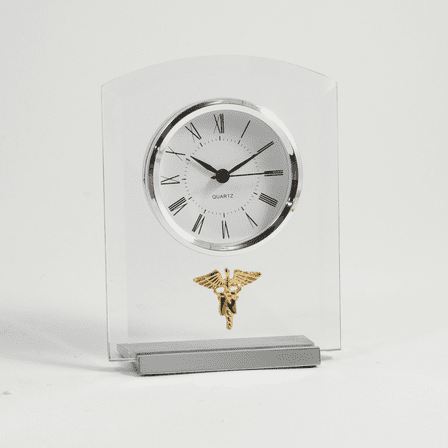 Nursing Theme Desk Clock
