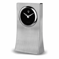 Obelisk Galleria Collection Clock By Bulova