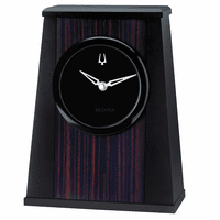 Oblique Galleria Collection Clock By Bulova