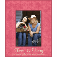 "Old Friends Personalized 5"" x 7"" Picture Frame - Discontinued"