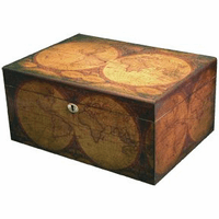 Old World 100 Count Cigar Humidor