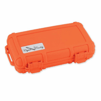 Orange Five Cigar Caddy Travel Humidor
