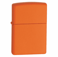 Orange Matte without Zippo Logo Zippo Lighter - ID# 231